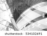 double exposure photo of modern ... | Shutterstock . vector #534102691