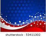 fourth of july celebration... | Shutterstock .eps vector #53411302