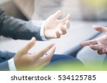 business adviser analyzing... | Shutterstock . vector #534125785