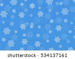 christmas snow washi background | Shutterstock .eps vector #534137161