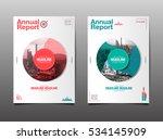 annual report  future  business ... | Shutterstock .eps vector #534145909
