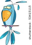 blue bird | Shutterstock .eps vector #53415115