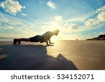 sports and healthy lifestyle.... | Shutterstock . vector #534152071
