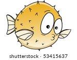 blowfish | Shutterstock .eps vector #53415637