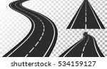 vertical asphalt roads  vector...   Shutterstock .eps vector #534159127