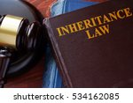 inheritance law title on a book