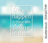 positive inspiration quote... | Shutterstock . vector #534167749