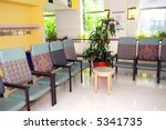 hospital or clinic waiting room ... | Shutterstock . vector #5341735