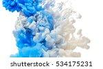 abstract paint splash isolated... | Shutterstock . vector #534175231