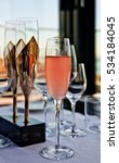 rose champagne and champange... | Shutterstock . vector #534184045