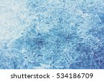 Rime  Frost  Ice Texture.  Ice...