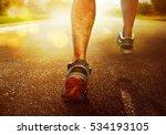 man running | Shutterstock . vector #534193105