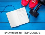 2017 goals and resolutions on... | Shutterstock . vector #534200071