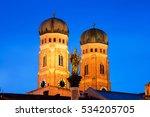 Munich  Germany. Illuminated...