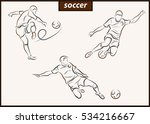 set of a vector illustration... | Shutterstock .eps vector #534216667