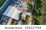 aerial view of antenna... | Shutterstock . vector #534217765