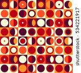 geometric abstract seamless... | Shutterstock . vector #534221917