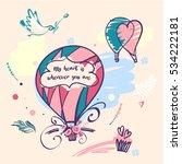 stylish vector illustration... | Shutterstock .eps vector #534222181