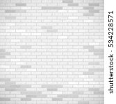 white brick wall. industrial... | Shutterstock .eps vector #534228571