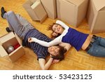 moving house | Shutterstock . vector #53423125
