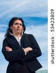 portrait of a business woman...   Shutterstock . vector #53423809