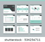 page layout design template for ... | Shutterstock .eps vector #534256711