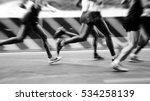 international marathon runner | Shutterstock . vector #534258139