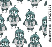 vector seamless pattern with... | Shutterstock .eps vector #534271921