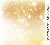 gold christmas background with... | Shutterstock .eps vector #534283531