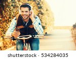 young handsome man is making... | Shutterstock . vector #534284035