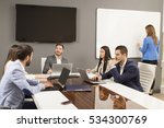 young business people have... | Shutterstock . vector #534300769