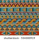 hand drawn seamless pattern... | Shutterstock .eps vector #534300919