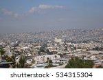 The beautiful skyline of Tijuana, Mexico.