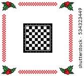 Web Icon. Chess Board