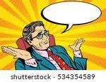 oops sorry business man. pop... | Shutterstock . vector #534354589