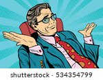 oops sorry business man. pop... | Shutterstock . vector #534354799