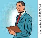 Black Businessman With...