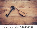 Business Concept   Old Key...