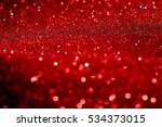 red and silver sparkling lights ...   Shutterstock . vector #534373015