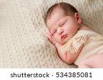 sweet baby sleeping.   Shutterstock . vector #534385081
