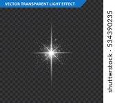 transparent glow light effect....   Shutterstock .eps vector #534390235