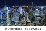 incredible ny night view from... | Shutterstock . vector #534392581