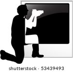 the vector photographer's... | Shutterstock .eps vector #53439493