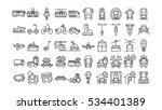 Transportation Icons Set On...