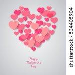 Valentine Background. Heart...