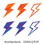 set of colorful emblems of... | Shutterstock .eps vector #534411919