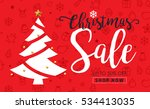 Christmas Sale Background And...
