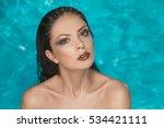 beautiful makeup girls in the...   Shutterstock . vector #534421111
