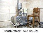 stainless steel beer fermenter... | Shutterstock . vector #534428221