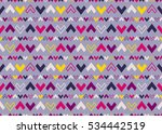 abstract geometric pattern with ... | Shutterstock .eps vector #534442519